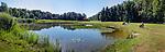 EINDHOVEN   - hole 17 ,  Golfbaan Welschap.   COPYRIGHT KOEN SUYK