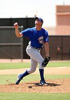 Aaron Shafer / AZL Cubs in action against the AZL Padres in Peoria, AZ - 07/21/2008..Photo by:  Bill Mitchell/Four Seam Images