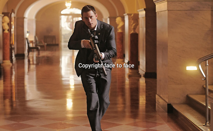 Channing Tatum in White House Down...- Editorial Use Only -..Supplied by face to face