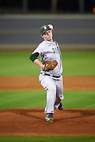 Siena Saints starting pitcher Tommy Miller (42) delivers a pitch during a game against the UCF Knights on February 17, 2017 at UCF Baseball Complex in Orlando, Florida.  UCF defeated Siena 17-6.  (Mike Janes/Four Seam Images)