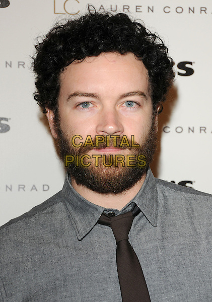 DANNY MASTERSON.The LC Lauren Conrad for Kohl's Launch Party  on Melrose Place in West Hollywood, California, USA. .October 1st, 2009.headshot portrait beard facial hair grey gray brown.CAP/DVS.©Debbie VanStory/Capital Pictures.