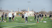 Arlington Va.- January 23, 2015.  D.C. Untied training session before heading to Florida at Long Bridge Park.