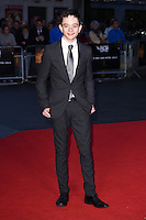 "Lewis MacDougall<br /> at the London Film Festival premiere for ""A Monster Calls"" at the Odeon Leicester Square, London.<br /> <br /> <br /> ©Ash Knotek  D3162  06/10/2016"