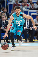 Movistar Estudiantes Aleksandar Cvetkovic during Liga Endesa match between Movistar Estudiantes and Montakit Fuenlabrada at Wizink Center in Madrid, Spain. November 12, 2017. (ALTERPHOTOS/Borja B.Hojas) /NortePhoto.com