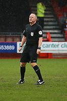 Referee David Rock during Crawley Town vs Carlisle United, Sky Bet EFL League 2 Football at Broadfield Stadium on 15th February 2020