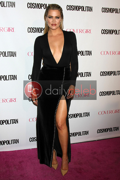 Khloe Kardashian<br /> at the Cosmopolitan Magazine's 50th Anniversary Party, Ysabel, Los Angeles, CA 10-12-15<br /> David Edwards/DailyCeleb.com 818-249-4998