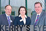 JUBILEE: Pat Lawlor, Anne Marie O'Connell (dupty Principle) and Thomas McEllistrim who attended the Causeway Comprehensive Jubilee Celebrationion in the school on Saturday..........