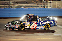 Nov. 13, 2009; Avondale, AZ, USA; NASCAR Camping World Truck Series driver Colin Braun during the Lucas Oil 150 at Phoenix International Raceway. Mandatory Credit: Mark J. Rebilas-