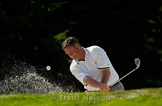 Golfer Tom Love at Sandy's Hidden Valley Country Club.<br />