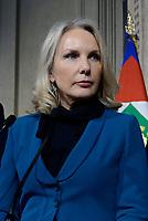 Roma, 4 Aprile 2018<br />  Juliane Unterberger.<br /> Primo giorno di Consultazioni per la formazione del Governo