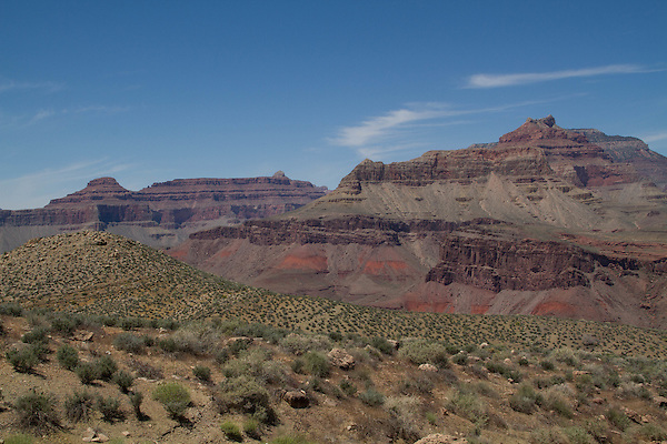 The Tonto Plateau in Grand Canyon National Park, Arizona. .  John offers private photo tours in Grand Canyon National Park and throughout Arizona, Utah and Colorado. Year-round.