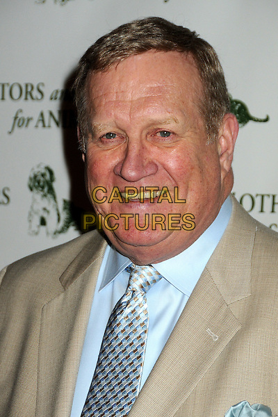 KEN HOWARD .Actors and Others For Animals 40th Anniversary Fundraising Luncheon Honoring Betty White held at the Universal Hilton Hotel, Universal City, California, USA, 9th April 2011..portrait headshot smiling blue shirt tie beige .CAP/ADM/BP.©Byron Purvis/AdMedia/Capital Pictures.