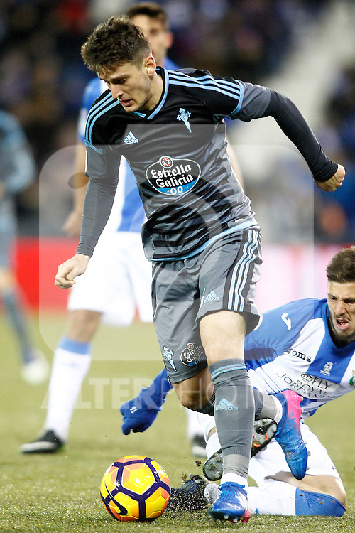 Celta de Vigo's Nemanja Radoja during La Liga match. January 28,2017. (ALTERPHOTOS/Acero)