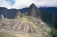 Machu Picchu from near the Dawn Gate.