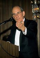 Montreal (Qc) CANADA - 1995 File Photo -Charles Bronfman, Seagram's co-Chairman<br /> <br /> Charles Rosner Bronfman, PC, CC (born June 27, 1931 in Montreal) is a Canadian businessman and philanthropist.<br /> <br /> He is the son of Samuel and Saidye Bronfman; his siblings are Minda, architecture expert Phyllis, and Edgar. He is the uncle of Edgar Bronfman, Jr.. Charles Bronfman is the widower of his second wife, Andrea Bronfman.<br /> <br /> PHOTO :  Agence Quebec Presse