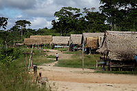 Ind&iacute;genas Kaxinawa, na fronteira Brasil Per&uacute;, em Santa Rosa do Purus.<br /> Acre, Brasil.<br /> Foto Odair Leal / Acervo H<br /> 02/04/2015