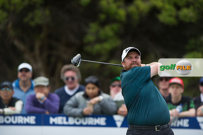 Shane Lowry (IRL) during the final round at the ISPS Handa World Cup of Golf, from Kingston heath Golf Club, Melbourne Australia. 27/11/2016<br /> Picture: Golffile | Anthony Powter<br /> <br /> <br /> All photo usage must carry mandatory copyright credit (&copy; Golffile | Anthony Powter)