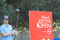 Cormac Sharvin (NIR) in action during the first round of the Magical Kenya Open presented by ABSA, played at Karen Country Club, Nairobi, Kenya. 14/03/2019<br /> Picture: Golffile | Phil Inglis<br /> <br /> <br /> All photo usage must carry mandatory copyright credit (&copy; Golffile | Phil Inglis)