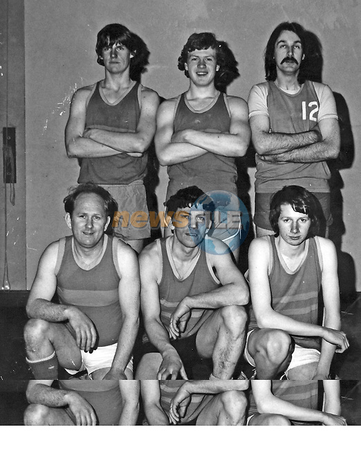 The Longford 1st Senior Mens team 1974 are back from L to R: Dermot Madden (RIP), Richard Chivers, Luke Early..Front from L to R: Vincent Forde, Michael Murphy Snr., David Cox..Photo NEWSFILE/Barry Cronin.(Photo credit should read Barry Cronin/NEWSFILE)...This Picture has been sent you under the condtions enclosed by:.Newsfile Ltd..the Studio,.Millmount Abbey,.Drogheda,.Co Meath..Ireland..Tel: +353(0)41-9871240.Fax: +353(0)41-9871260.GSM: +353(0)86-2500958.email: pictures@newsfile.ie.www.newsfile.ie.FTP: 193.120.102.198..This picture is from Fran Caffrey@newsfile.ie