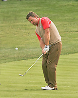 27 SEP 12  Graeme McDowell works on his game before The 39th Ryder Cup at The Medinah Country Club in Medinah, Illinois.