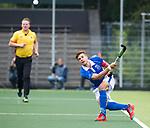 AMSTELVEEN -  Sander de Wijn (Kampong)  tijdens  de  eerste finalewedstrijd van de play-offs om de landtitel in het Wagener Stadion, tussen Amsterdam en Kampong (1-1). Kampong wint de shoot outs.   COPYRIGHT KOEN SUYK