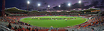 Panorama of Spotless Stadium in the round 3 of the A-League match between Western Sydney Wanderers and Newcastle Jets at Sydney Olympic Park, on Sunday, 23rd of October 2016, Sydney, Australia (Photo: Steve Christo)