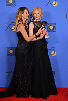 Laura Dern &amp; Nicole Kidman at the 75th Annual Golden Globe Awards at the Beverly Hilton Hotel, Beverly Hills, USA 07 Jan. 2018<br /> Picture: Paul Smith/Featureflash/SilverHub 0208 004 5359 sales@silverhubmedia.com