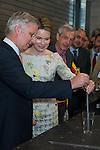 Roi Philippe & Reine Mathilde visite en Brabant Wallon