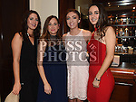 Tara McKenna, Simona Vitkelyte, Grace McCormack and Naoise McConnon at the Baile Atha Fherdia Traders Awards in the Nuremore hotel Carrickmacross. Photo:Colin Bell/pressphotos.ie
