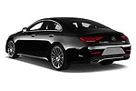 Car pictures of rear three quarter view of a 2019 Mercedes Benz CLS Coupe AMG line 4 Door Sedan angular rear