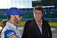 Mike Helton and Jimmie Johnson (#48)
