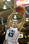 23 November 2012: Duke's Allison Vernerey (FRA). The Duke University Blue Devils played the Valparaiso University Crusaders at Cameron Indoor Stadium in Durham, North Carolina in an NCAA Division I Women's Basketball game. Duke won the game 90-45.