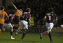 02/01/2008    Copyright Pic: James Stewart.File Name : sct_jspa12_dundee_utd_v_hearts.BARRY ROBSON SCORES DUNDEE UTD'S SECOND.James Stewart Photo Agency 19 Carronlea Drive, Falkirk. FK2 8DN      Vat Reg No. 607 6932 25.Office     : +44 (0)1324 570906     .Mobile   : +44 (0)7721 416997.Fax         : +44 (0)1324 570906.E-mail  :  jim@jspa.co.uk.If you require further information then contact Jim Stewart on any of the numbers above.........