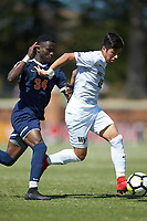 Winston-Salem, North Carolina - Saturday, April 21, 2018: The Virginia Cavaliers defeated the Wake Forest Demon Deacons 2-1.