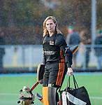 TILBURG  - hockey- Keeper Puck van den Blink (WereDi)   tijdens de wedstrijd Were Di-MOP (1-1) in de promotieklasse hockey dames. COPYRIGHT KOEN SUYK