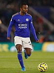 Ricardo Pereira of Leicester City during the Premier League match against Everton at the King Power Stadium, Leicester. Picture date: 1st December 2019. Picture credit should read: Darren Staples/Sportimage