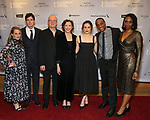"Jenni Barber, Benjamin Walker, Tracy Letts, Annette Bening, Francesca Carpanini, Hampton Fluker and Chinasa Ogbuagu attends the Broadway Opening Night After Party for ""All My Sons"" at The American Airlines Theatre on April 22, 2019  in New York City."