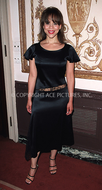 Rosie Perez arrives at Waldorf-Astoria for the 3rd Annual Directors Guild of America Awards. New York, June 9, 2002. Please byline: Alecsey Boldeskul/NY Photo Press.   ..*PAY-PER-USE*      ....NY Photo Press:  ..phone (646) 267-6913;   ..e-mail: info@nyphotopress.com