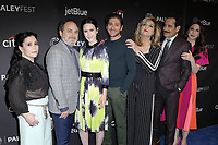 """LOS ANGELES - MAR 15:  Alex Borstein, Kevin Pollak, Rachel Brosnahan, Michael Zegen, Caroline Aaron, Tony Shalhoub, Marin Hinkle at the PaleyFest - """"The Marvelous Mrs. Maisel"""" at the Dolby Theater on March 15, 2019 in Los Angeles, CA"""