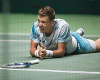 Februari 13, 2015, Netherlands, Rotterdam, Ahoy, ABN AMRO World Tennis Tournament, Tomas Berdych (CZE) <br /> Photo: Tennisimages/Henk Koster