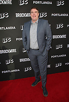 "NORTH HOLLYWOOD, CA - MAY 15: Joel Church-Cooper, at IFC Hosts ""Brockmire"" And ""Portlandia"" EMMY FYC Red Carpet Event at Saban Media Center at the Television Academy, Wolf Theatre in North Hollywood, California on May 15, 2018. Credit: Faye Sadou/MediaPunch"