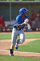 Chicago Cubs Shawon Dunston Jr (20) during an instructional league game against the Texas Rangers on October 5, 2015 at the Surprise Stadium Training Complex in Surprise, Arizona.  (Mike Janes/Four Seam Images)