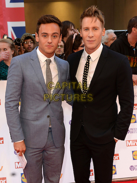 LONDON, ENGLAND - SEPTEMBER 28: Tom Daley, Dustin Lance attends the Pride of Britain Awards at The Grosvenor House Hotel on September 28, 2015 in London, England.<br /> CAP/DH<br /> &copy;DH/Capital Pictures