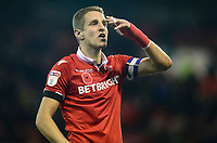 Nottingham Forest's Michael Dawson<br /> <br /> Photographer Rachel Holborn/CameraSport<br /> <br /> The EFL Sky Bet Championship - Nottingham Forest v Sheffield United - Saturday 3rd November 2018 - The City Ground - Nottingham<br /> <br /> World Copyright &copy; 2018 CameraSport. All rights reserved. 43 Linden Ave. Countesthorpe. Leicester. England. LE8 5PG - Tel: +44 (0) 116 277 4147 - admin@camerasport.com - www.camerasport.com