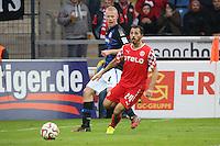 Sergio Pinto (Fortuna) gegen Tom Beugelsdijk (FSV) - FSV Frankfurt vs. Fortuna Düsseldorf, Frankfurter Volksbank Stadion