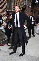 NEW YORK, NY-November 01: Luke Bracey at The Late Show with Stephen Colbert to talk about his new movie Hacksaw Ridge in New York.November 01, 2016. Credit:RW/MediaPunch