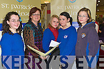 LOOKING FORWARD: Students from St Bridgid's School Presentation Killarney, at the St. Patrick's College Stand were l-r: Aoife Thamer, Catherine Cormack (St Patrick's College), Amber Ramsey, Leanne Casey & Jennifer Leahy attending the Careers Fair on Tuesday in the Brandon Hotel, Tralee.