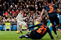 Real Madrid's Dani Ceballos during La Liga match between Real Madrid and Valencia CF at Santiago Bernabeu Stadium in Madrid, Spain. December 01, 2018. (ALTERPHOTOS/A. Perez Meca) /NortePhoto NORTEPHOTOMEXICO