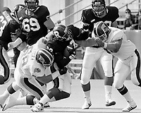 Glenn Kulka and Don Moen Toronto Argonauts 1988. Photo Scott Grant.