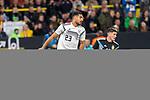 09.10.2019, Signal Iduna Park, Dortmund, GER, FSP, LS, Deutschland (GER) vs Argentinien (ARG)<br /> <br /> DFB REGULATIONS PROHIBIT ANY USE OF PHOTOGRAPHS AS IMAGE SEQUENCES AND/OR QUASI-VIDEO.<br /> <br /> im Bild / picture shows<br /> <br /> Emre Can (Deutschland / GER #23)<br /> Rodrigo de Paul (ARG #15)<br /> <br /> <br /> <br /> während Freundschaftsspiel  Deutschland gegen Argentinien   in Dortmund  am 09.10..2019,<br /> <br /> Foto © nordphoto / Kokenge